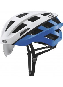 Cyklistická přilba ABUS In-Vizz Ascent blue comb L