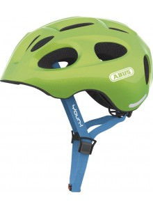 Cyklistická přilba ABUS Youn-I sparkling green M