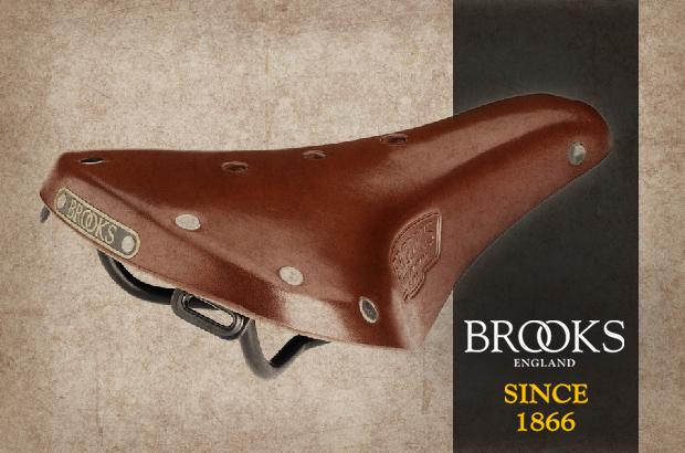 Legendární kožená sedla Brooks