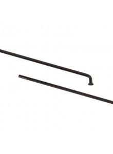 Drát 282/2 mm nerez černý