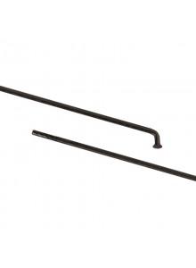 Drát 291/2 mm nerez černý