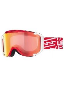 Lyžařské brýle UVEX SNOWSTRIKE VM, red-white/variomatic/litemirror red (3023) Množ. Uni
