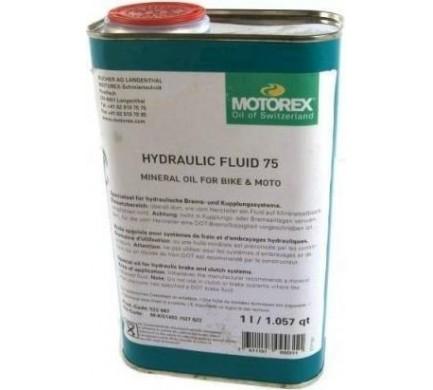 2017 MOTOREX HYDRAULIC FLUID 75 1 L Množ. Uni