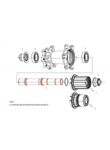 11.1918.053.001 - AXLE REAR ZIPP 177D DB AXLE ONLY Množ. Uni