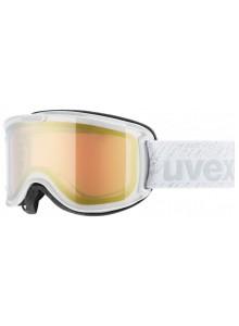 Lyžařské brýle UVEX SKYPER LTM, white/litemirror gold (1226) Množ. Uni