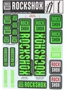 ROCKSHOX DECAL KIT 35MM NE05 GREEN