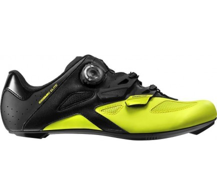 18 MAVIC COSMIC ELITE TRETRY BLACK/BLACK/SAFETY YELLOW 401537 10
