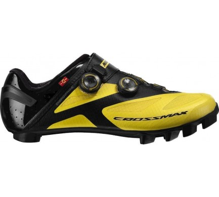 18 MAVIC CROSSMAX SL ULTIMATE TRETRY YELLOW MAVIC/BLACK/BLACK 377990 11