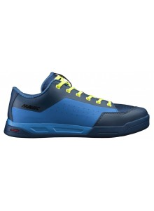 19 MAVIC TRETRY DEEMAX ELITE FLAT POSEIDON/INDIGO BUNTING/SAFETY YELLOW 406357 10,5