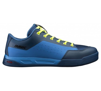 19 MAVIC TRETRY DEEMAX ELITE FLAT POSEIDON/INDIGO BUNTING/SAFETY YELLOW 406357 12