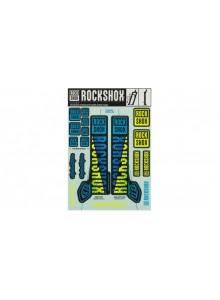 00.4318.021.002 - ROCKSHOX DECAL KIT TLD 35MM BLUE/YELLOW Množ. Uni