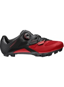 20 MAVIC TRETRY CROSSMAX ELITE BLACK/FIERY RED/BLACK (L39134400) 7,5