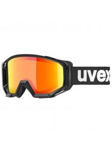 2021 UVEX ATHLETIC CV, BLACK MAT, MIRROR ORANGE (2230) Množ. Uni