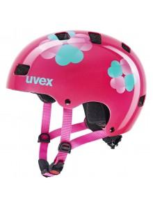 2021 UVEX HELMA KID 3, PINK FLOWER 51-55
