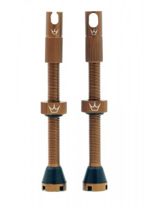 PEATY'S X CHRIS KING (MK2) TUBELESS VALVES - 60MM - BOURBON Množ. Uni