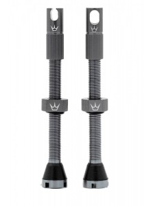 PEATY'S X CHRIS KING (MK2) TUBELESS VALVES - 60MM - SLATE Množ. Uni