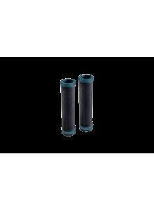 Gripy BROOKS Cambium Rubber grips - 100+100mm - černá/octane