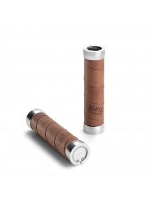 Gripy BROOKS Slender grips - 130+130 mm - Aged