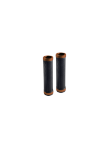 Gripy BROOKS Cambium Rubber grips - 100+100mm - černá/orange