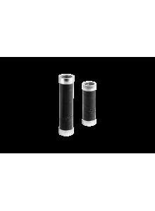 Gripy BROOKS Slender grips - 130+100 mm - černé