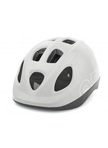Dětská cyklistická přilba Bobike ONE bílá S