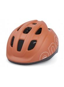 Dětská cyklistická přilba Bobike ONE hnědá XS