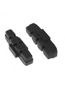 Brzdové špalky F výměnné, Magura hydraulic, černé, 50 mm