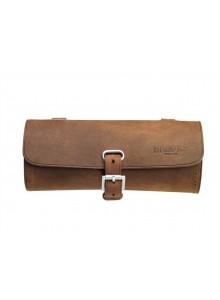 Kožená brašna pod sedlo Brooks Challenge Tool Bag AGED