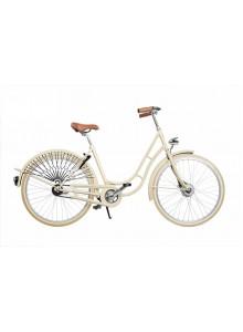 Elegantní retro kolo s košíkem Kolos No1 capri