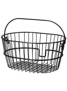 Oválný košík na kolo Klickfix velká oka