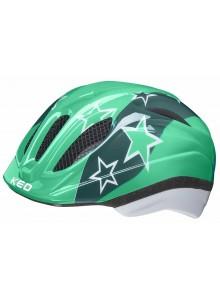 Přilba KED Meggy S/M green stars 49-55 cm