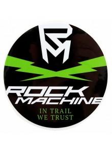 Kulatá nálepka ROCK MACHINE Cross Flash