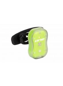 Zadní blikačka ROCK MACHINE R.Light 15 USB zelená