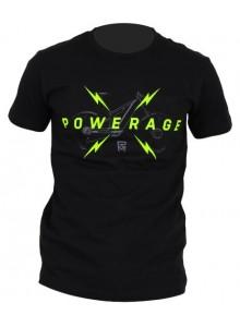 Tričko ROCK MACHINE unisex černé vel. L logo POWERAGE