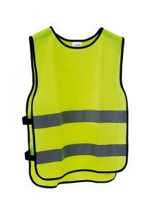 Reflexní bezpečnostní vesta M/L JUNIOR výška postavy 160-180cm, obvod hrudníku 84-108cm