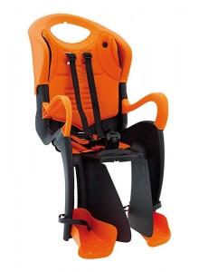 Sedačka zadní BELLELLI Tiger Relax černo-oranžová