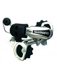 Měnič SHIMANO RD-TY21SSD bez háku 6speed , krátké vodítko, stříbrný
