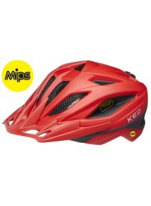Přilba KED Street Junior Mips M fiery red matt 53-58 cm