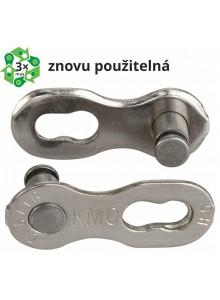 Spojka řetězu KMC 7-8 speed EPT povrch, šedý 7,1 mm, blistr 2 ks