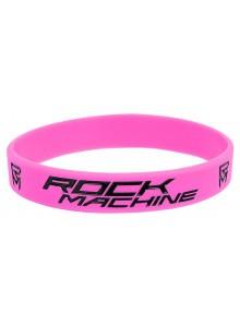 Silikonový náramek ROCK MACHINE růžový