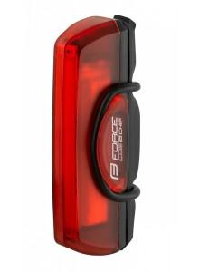 Blikačka zadní FORCE COB 16 chip LED, USB