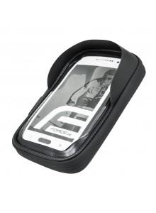 Brašna na řidítka FORCE TOUCH phone,  černá