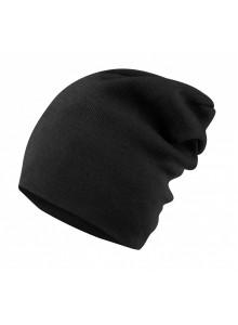 Čepice jaro/podzim FORCE PIXIE pletená, černá