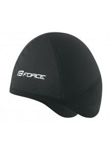 Čepice pod přilbu FORCE zimní, černá S - M