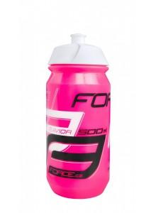 Láhev FORCE SAVIOR 0,5 l, růžovo-bílo-černá