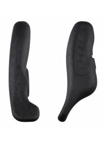Rohy FORCE RAB Al 12 cm AL+guma, černé