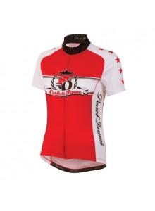 Dres P.I.W`S Elite LTD Jers.Red Cycliste Femme S