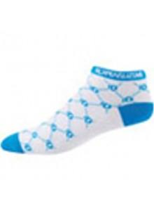 Ponožky P.I.Elite LE Low W bílo/modré logo