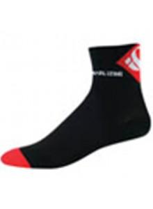 Ponožky P.I.Elite LE černo/červené