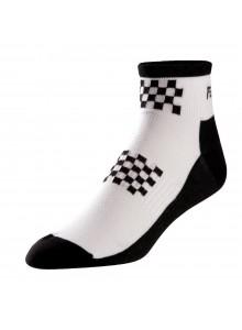 Ponožky P.I.Elite Low white/black flag